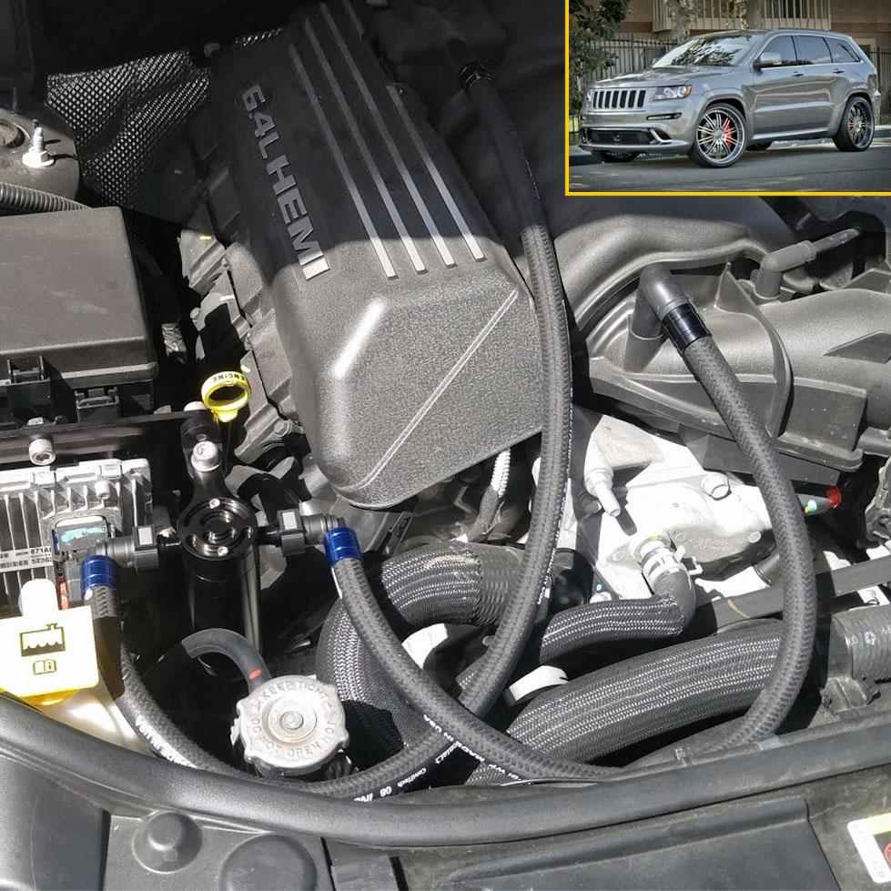 UPR Durango SRT Catch Can ( Z Bracket ) - Dodge Durango Performance Parts