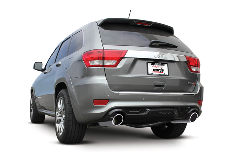borla atak jeep srt wk2 axle back exhaust solis racing group leader in aftermarket parts for. Black Bedroom Furniture Sets. Home Design Ideas