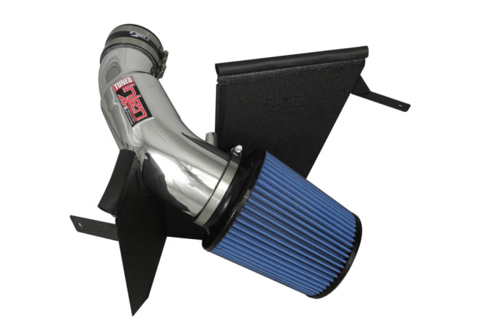 Injen Jeep Grand Cherokee SRT8 PowerFlow Wrinkle Black Air Intake System (2012-2015)