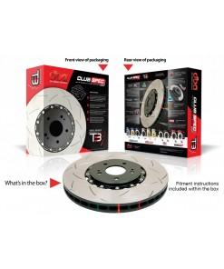 DBA Jeep SRT WK2 Front 2 Piece Slotted Rotor