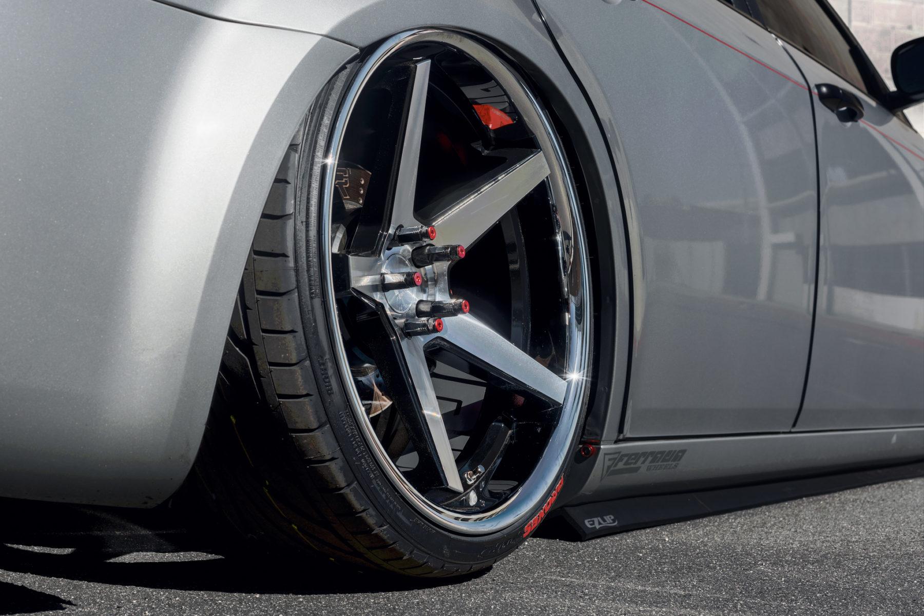 Ferrada Fr3 Dodge Charger Challenger Wheel Set 5x115