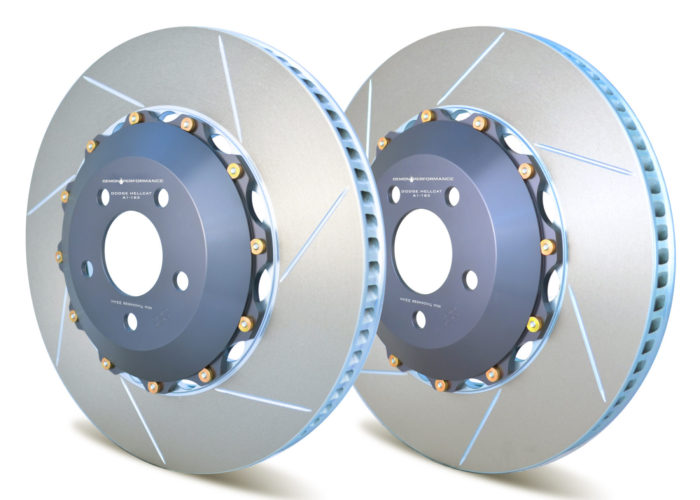 Demon Performance 2 PC Rotors Jeep SRT WK2 (Rear) - Jeep SRT WK2 Performance Brake Parts