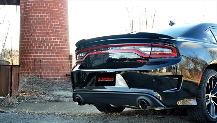 Corsa Sport Charger Hellcat Cat Back *Polished Tips