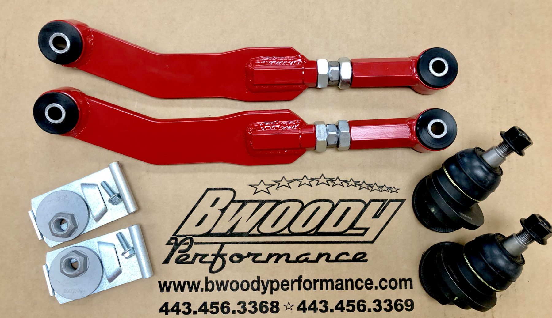 BWoody Jeep SRT WK2 Stage 1 Alignment Kit