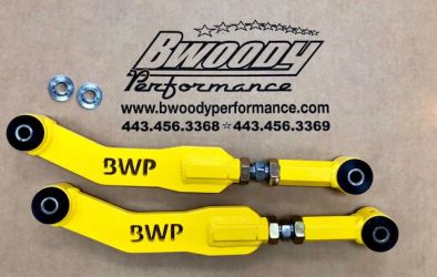 BWoody Trackhawk Adjustable Rear Control Arms