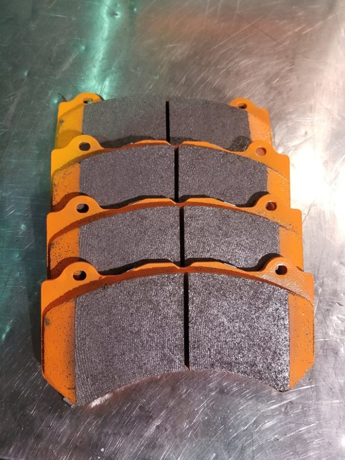 Demon Performance Street Brake Pads (Jeep SRT WK2)