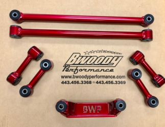 BWoody Trackhawk Handling Package