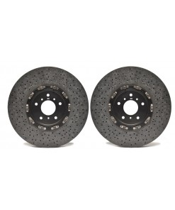Racing Brake Jeep TrackHawk Carbon Ceramic Rotors W/ Pads (Front) - Jeep Performance Brakes