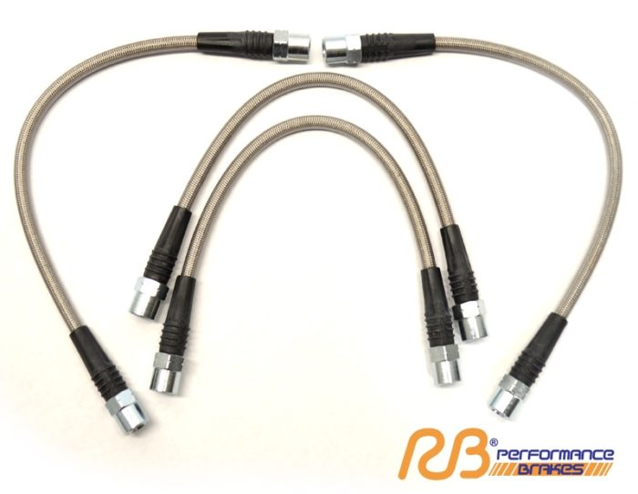 Racing Brake Stainless Steel Brake Lines - Jeep WK2 Performance Brake Parts