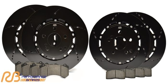 Racing Brake 2pc Rotor Package Jeep SRT WK2 (Front & Rear) - Jeep Performance Brakes