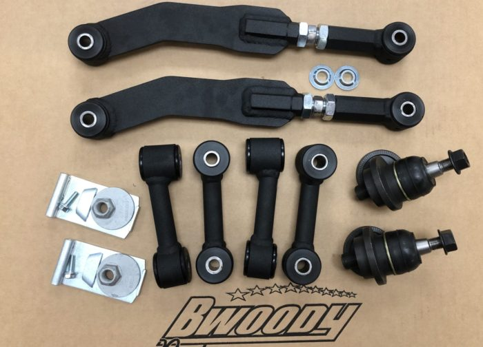 BWoody Jeep SRT WK2 Alignment Package (Stage 2) - Jeep Suspension Parts