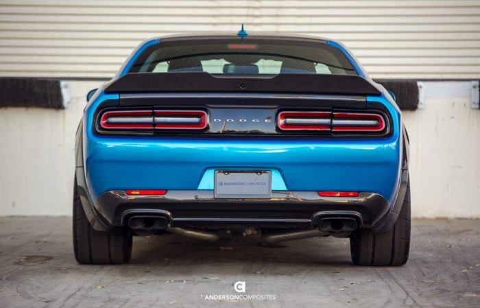 Challenger Scat Pack >> Anderson Composites Challenger Carbon Fiber Rear Spoiler Type-SA - Solis Racing Group | Leader ...