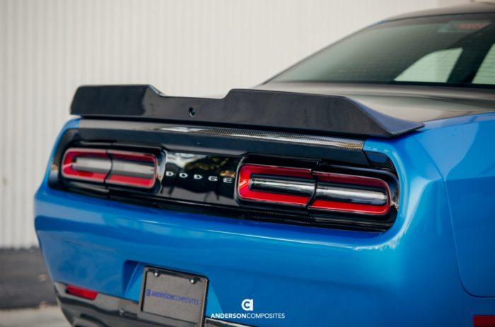 Anderson Composites Challenger Carbon Fiber Rear Spoiler Type-SA