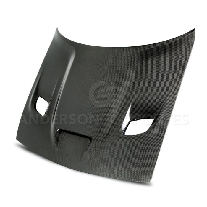 Anderson Composites Challenger Hellcat Carbon Fiber Hood (OE Type) - Dodge Challenger Aftermarket Cosmetic / Exterior Parts