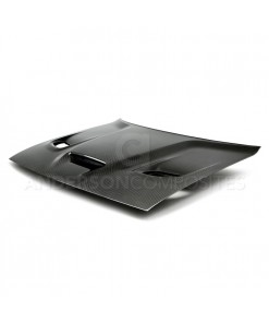 Anderson Composites Challenger Hellcat Carbon Fiber Hood (OE Type)