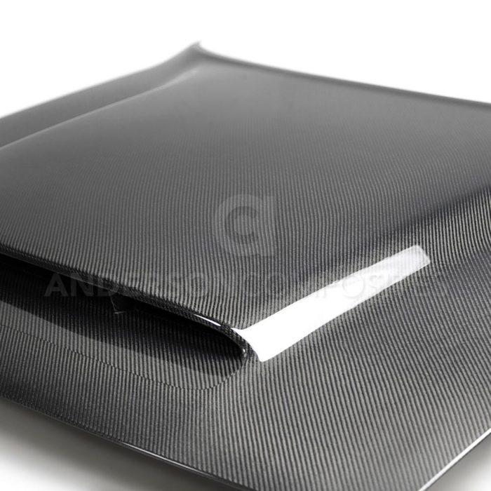 Anderson Composites Challenger Demon Carbon Fiber Hood OE