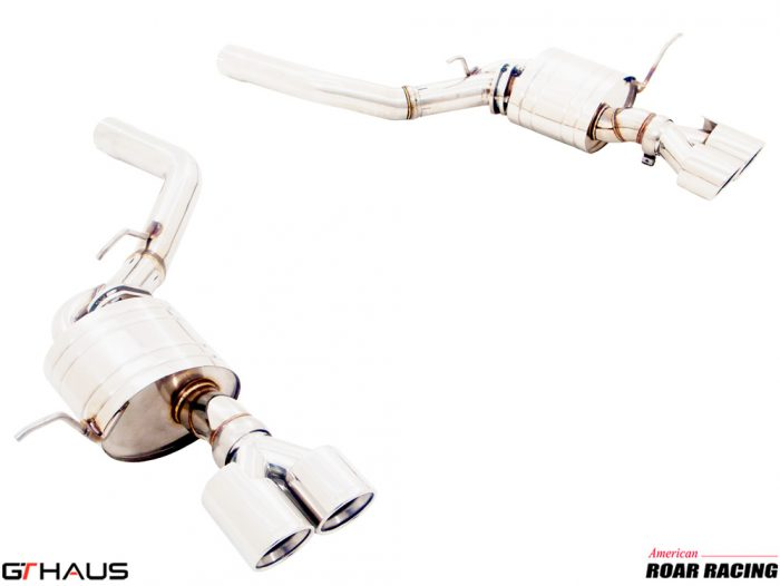 GT HAUS Non-Valved Cat Back (Jeep Trackhawk Performance Exhaust)