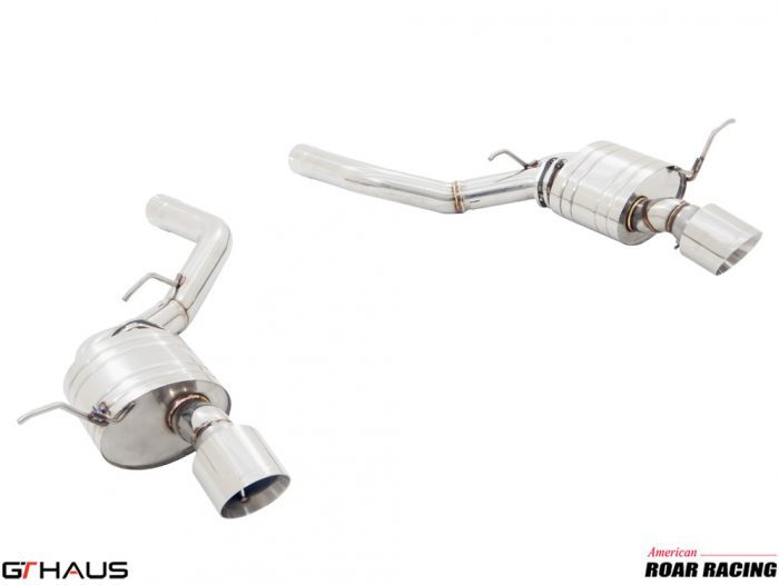 GT HAUS Non-Valved Cat Back Exhaust (Jeep SRT Performance Parts)