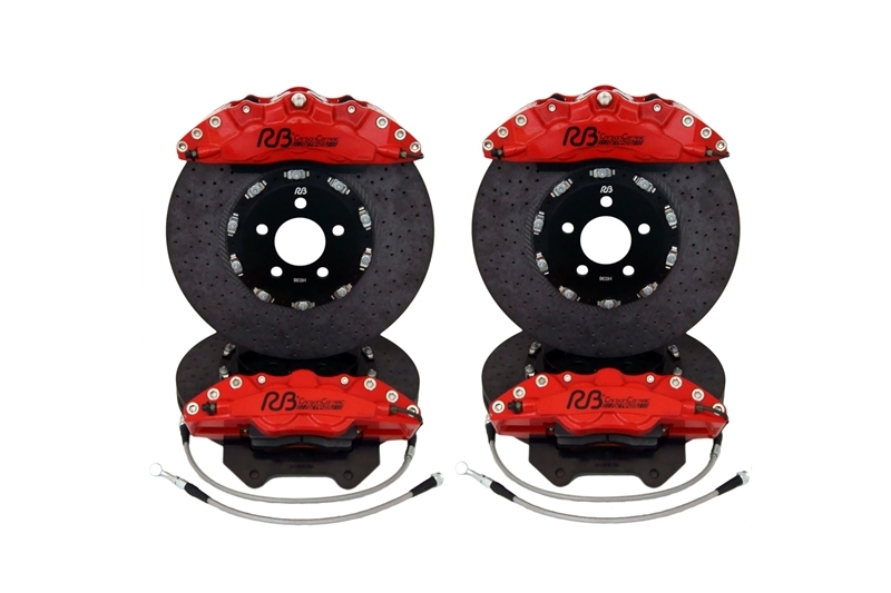 Racing Brake Carbon Ceramic Big Brake Kit for the Jeep SRT WK2